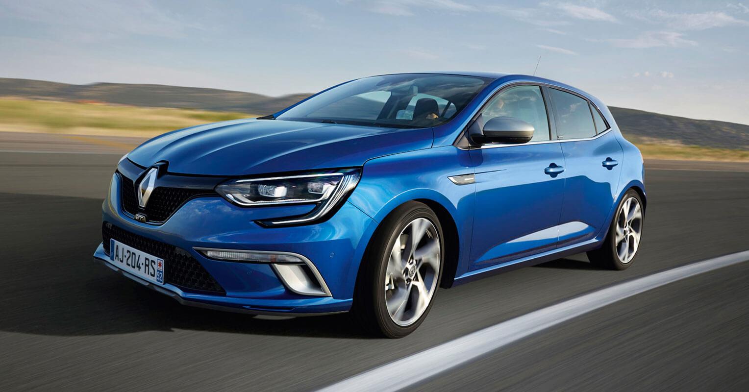 Renault Megane 2017 frontal 30.000 euros