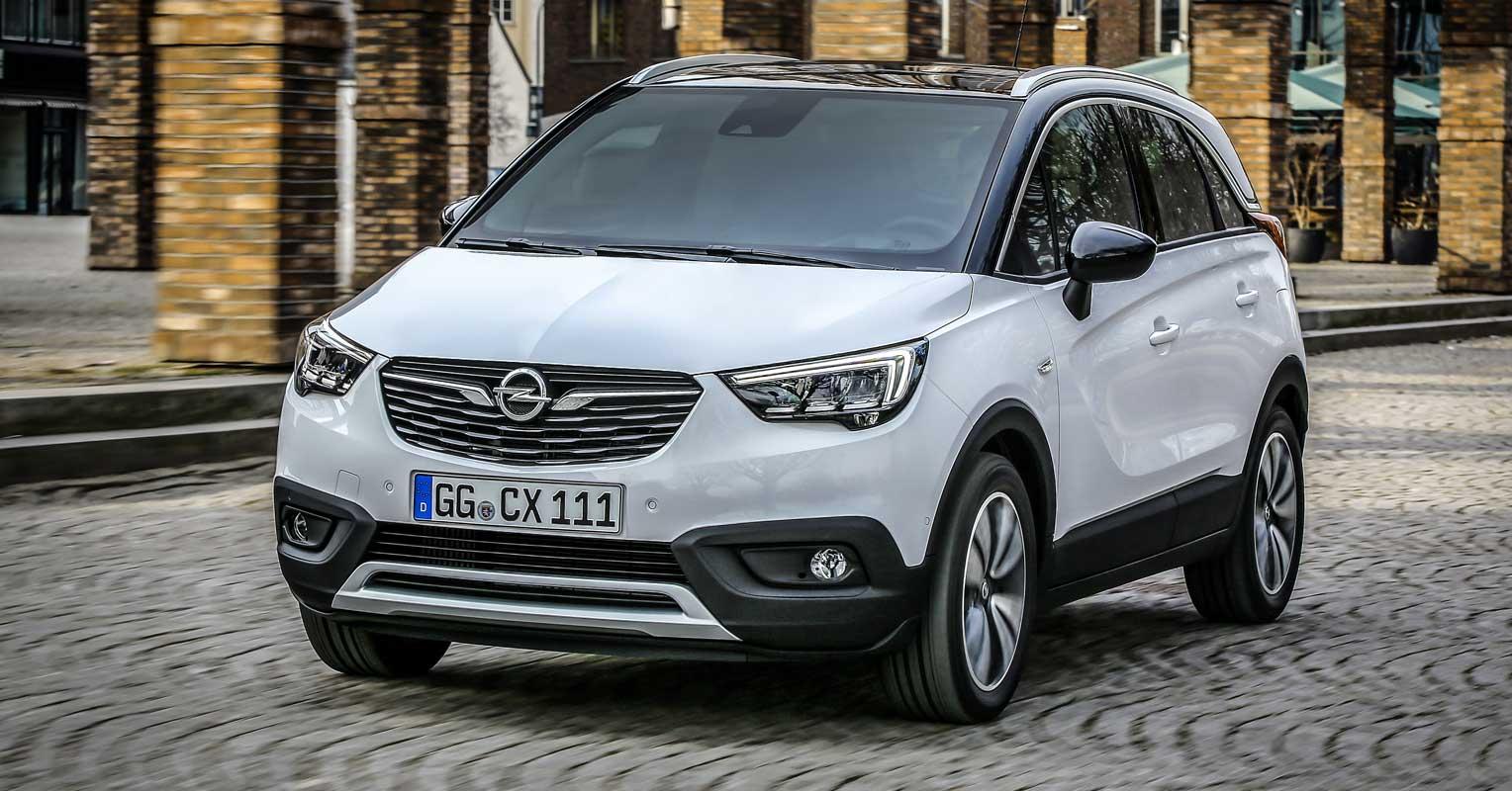 Opel Crossland X SUV 2018