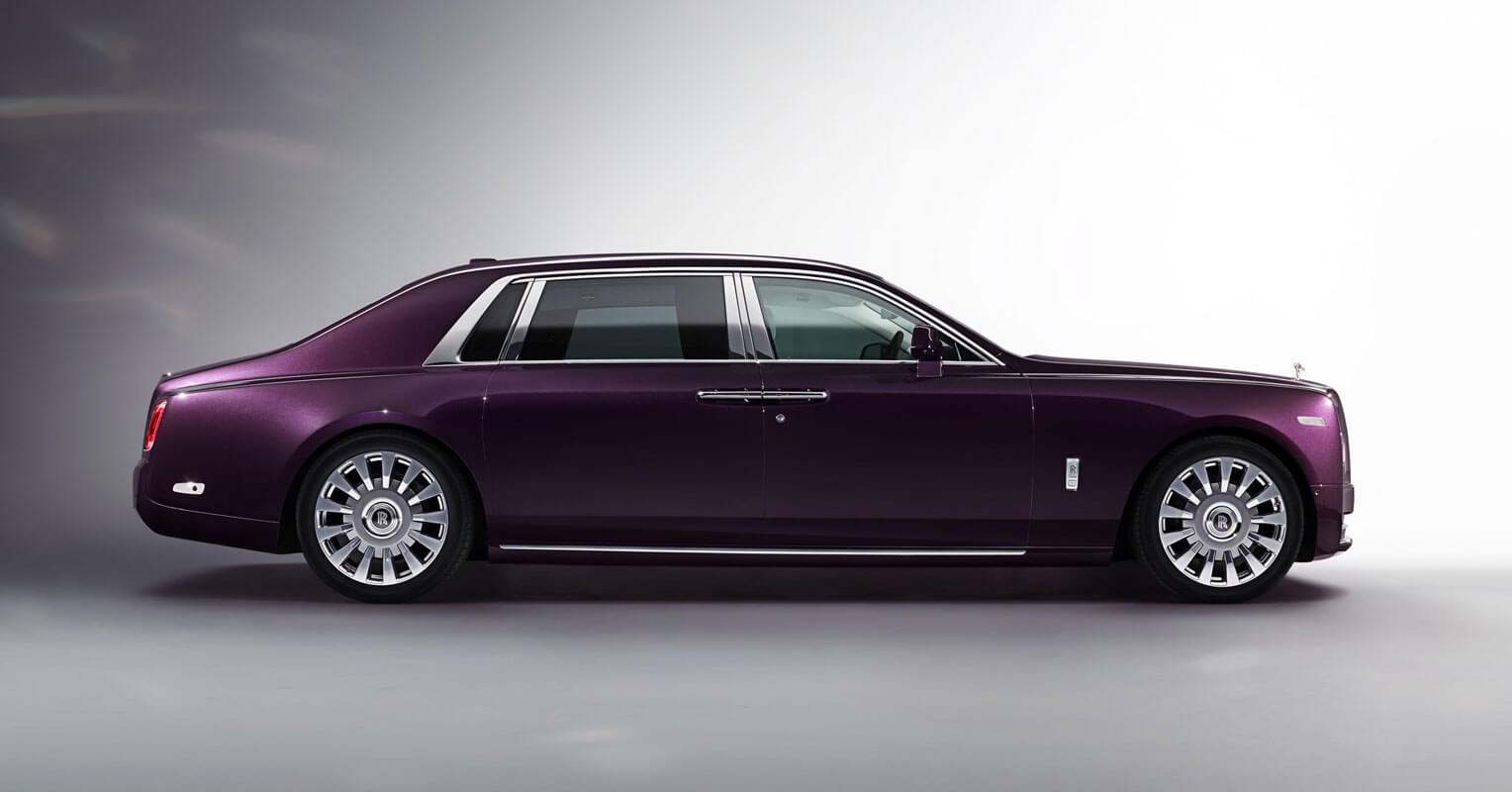 los coches más largos Roll Royce Phantom Extended Wheel Base