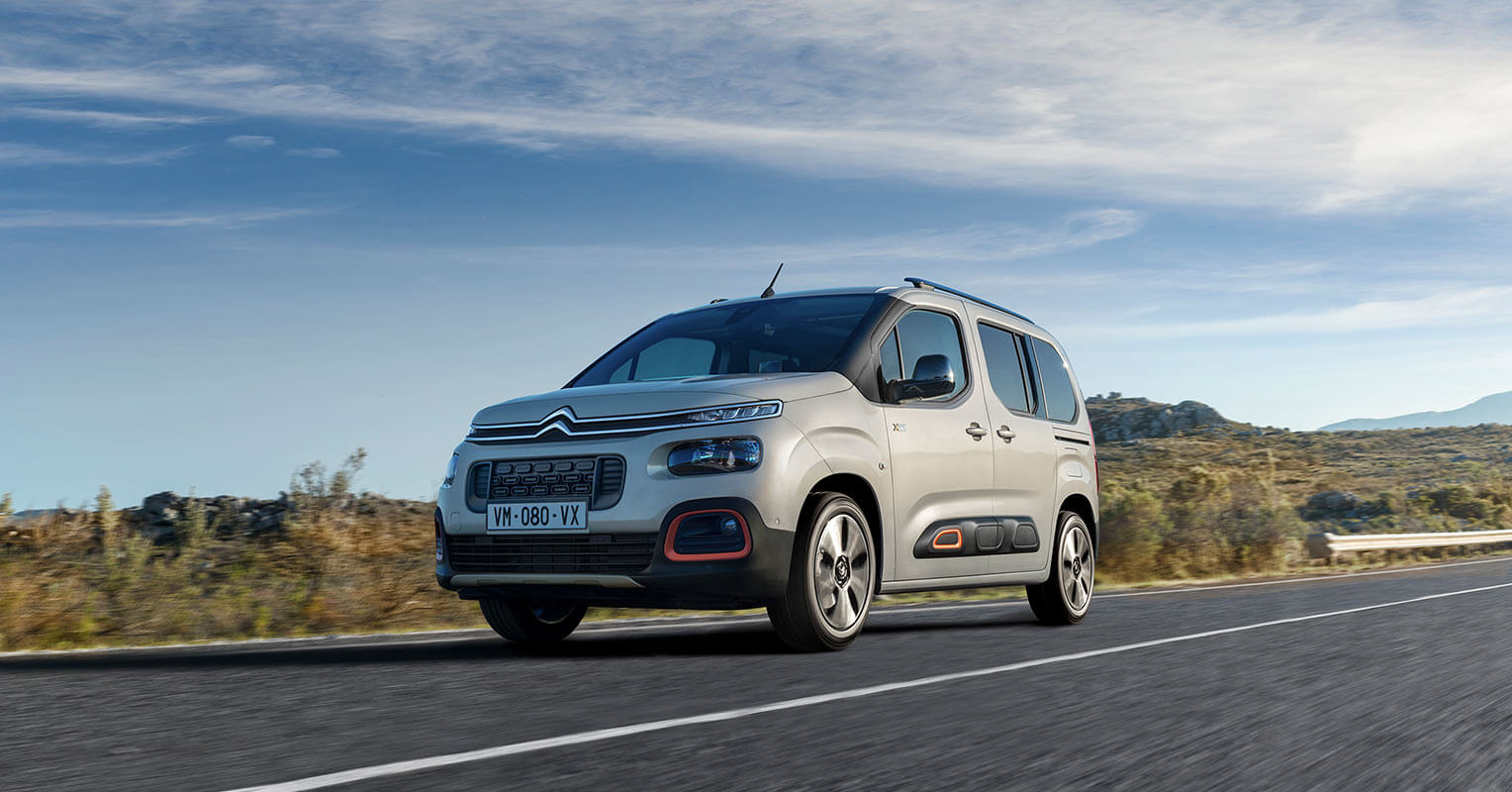 Citroën Berlingo 2018 airbumps