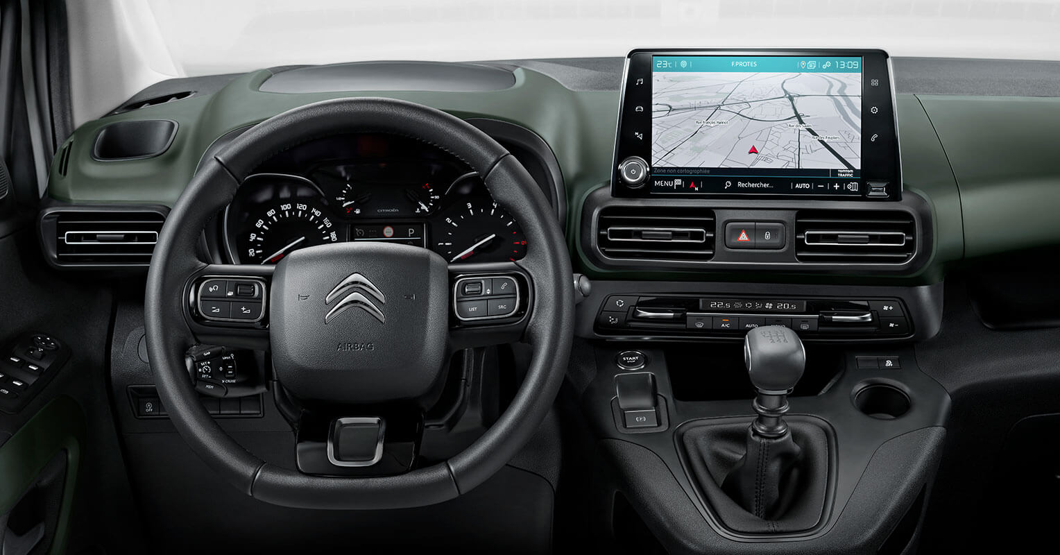 Citroën Berlingo 2018 interior