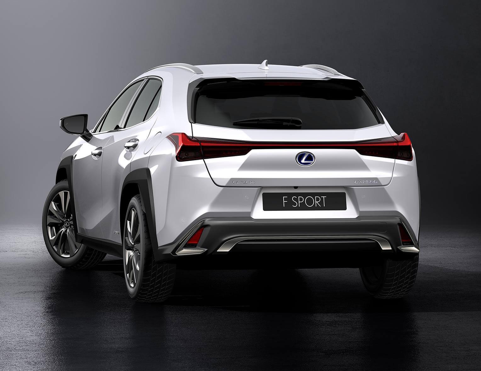 Lexus UX 2018 trasera