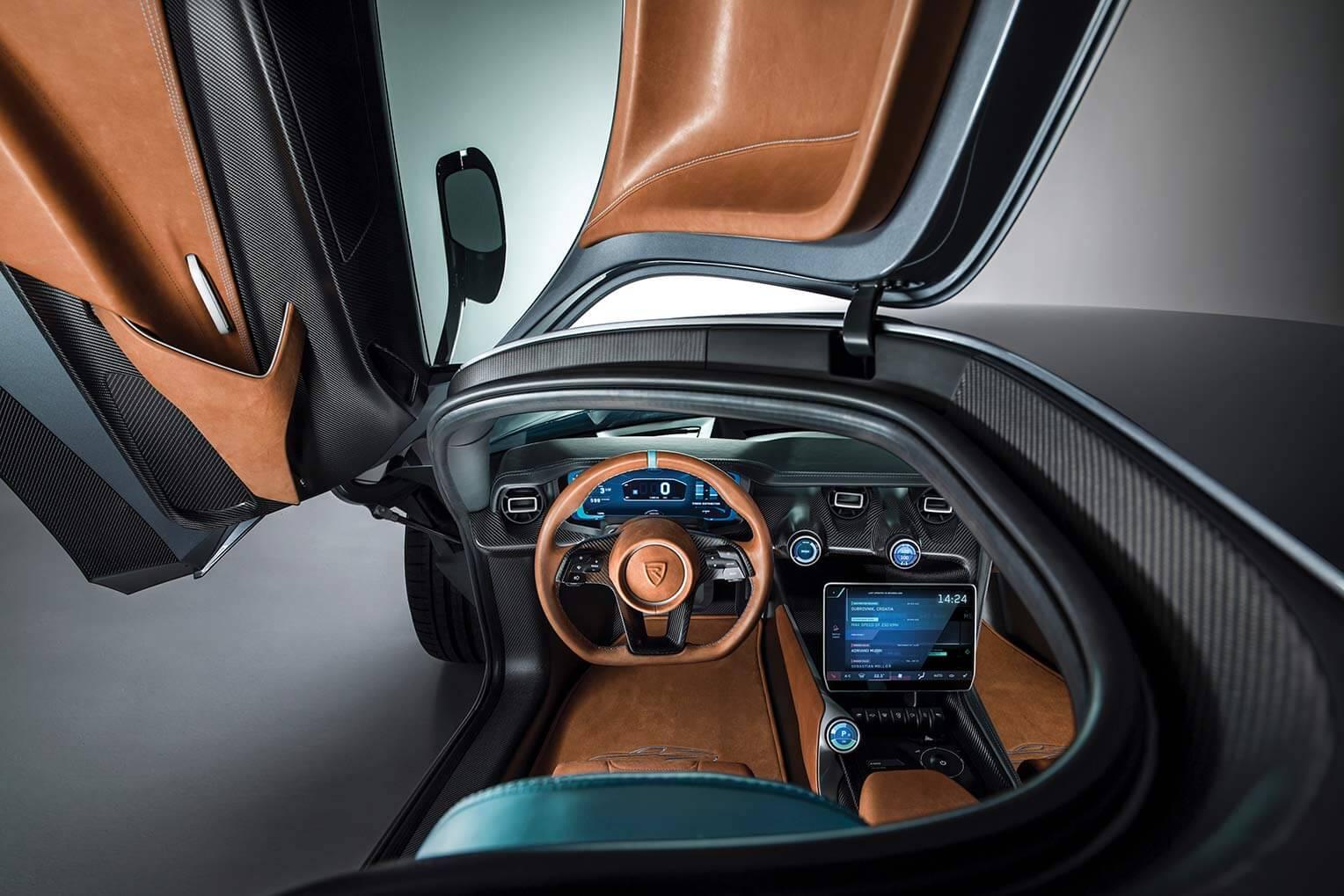 Rimac C_Two interior