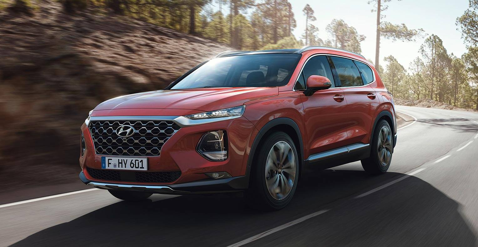Hyundai Santa Fe 2018 frontal