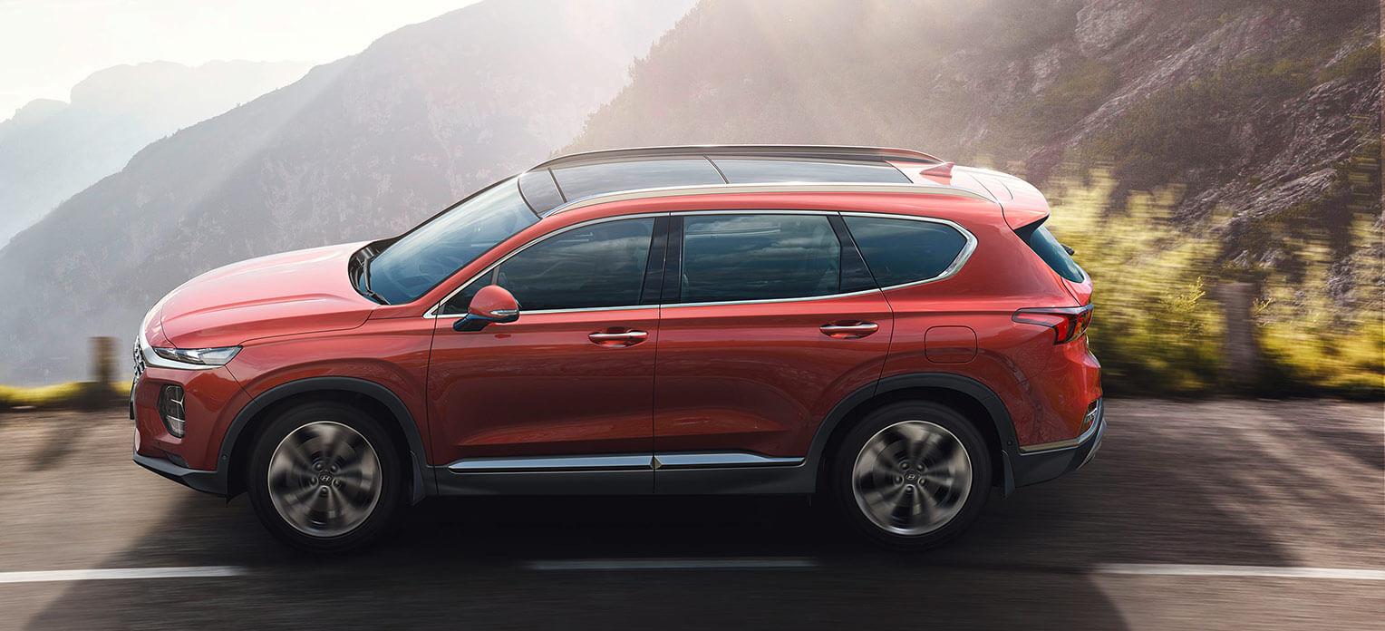 Hyundai Santa Fe 2018 lateral