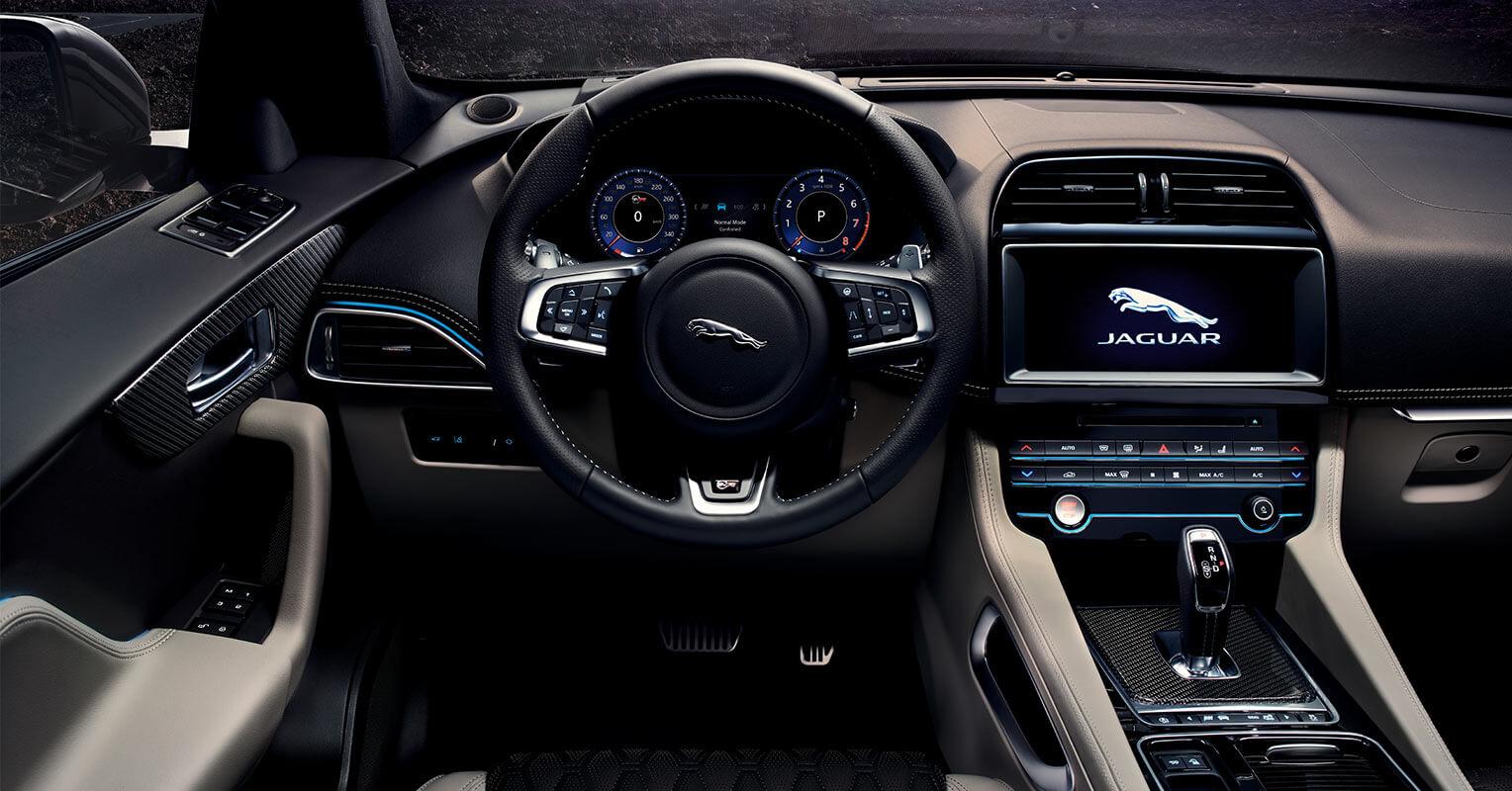 Jaguar F-Pace SVR interior