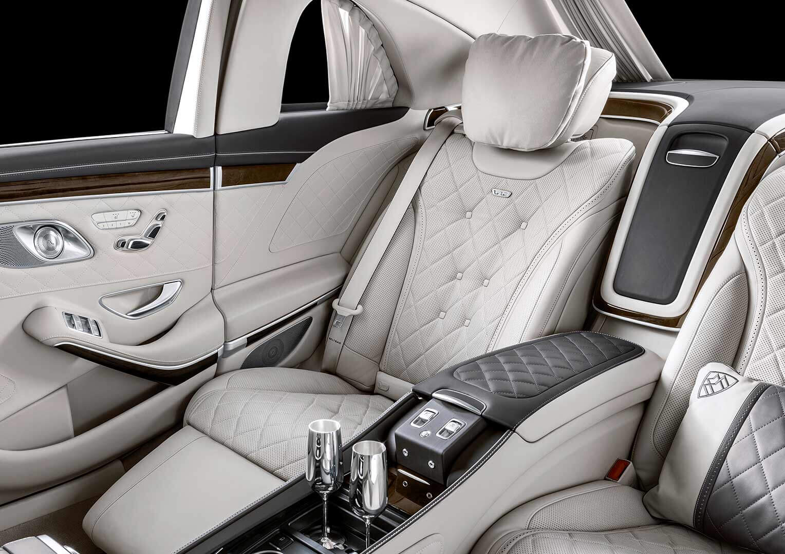 Mercedes-Maybach asientos