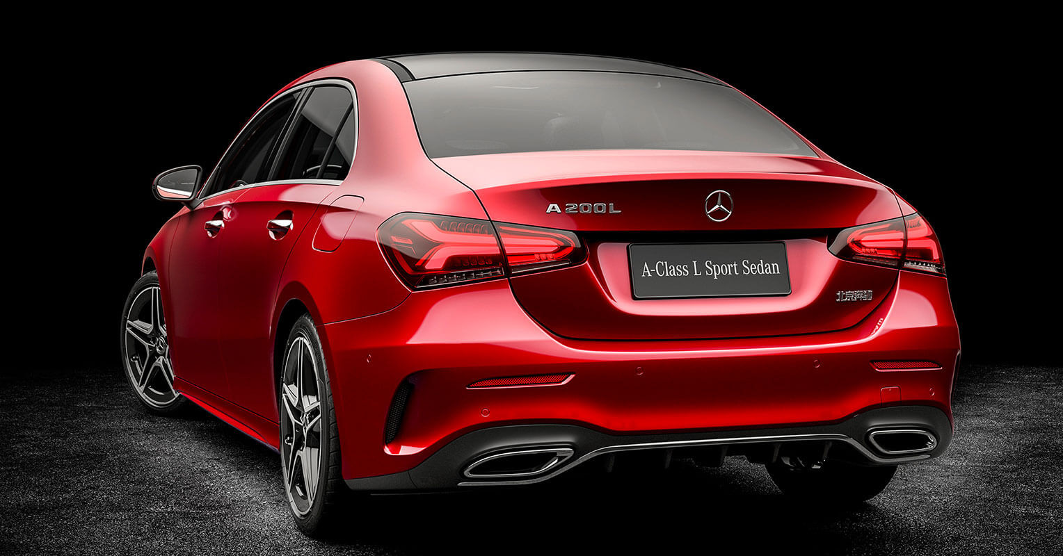 Mercedes-Benz Clase A Sports Sedán L 2