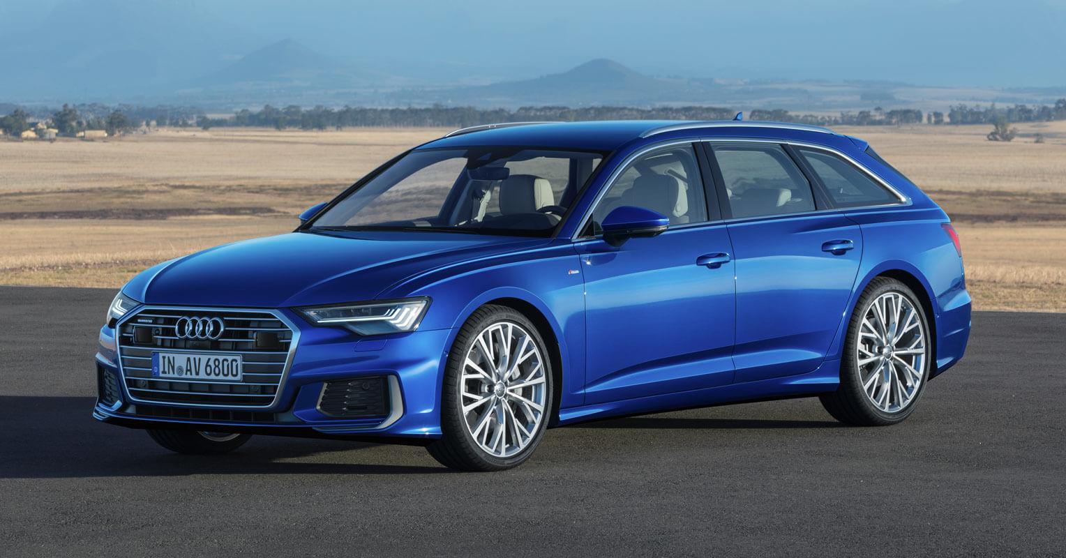 Audi A6 Avant 2018 interior