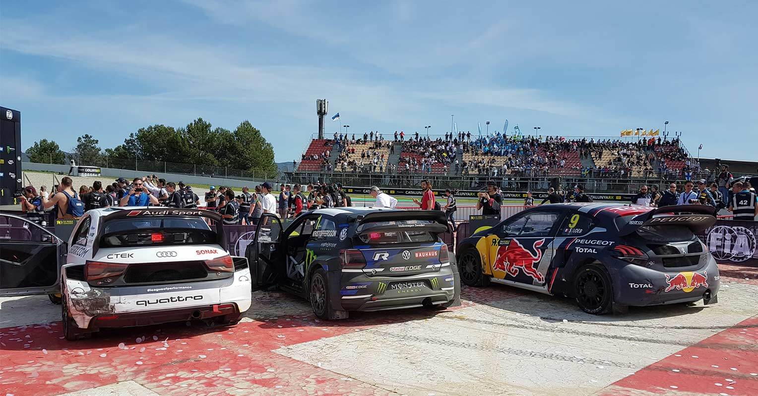 Clasificación final del World RX 2018 Barcelona
