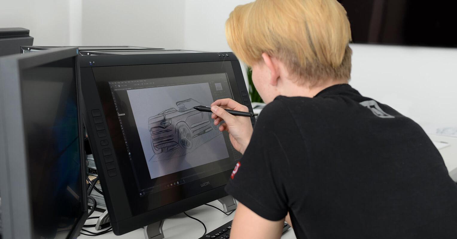 Diseñando el Skoda Karoq descapotable