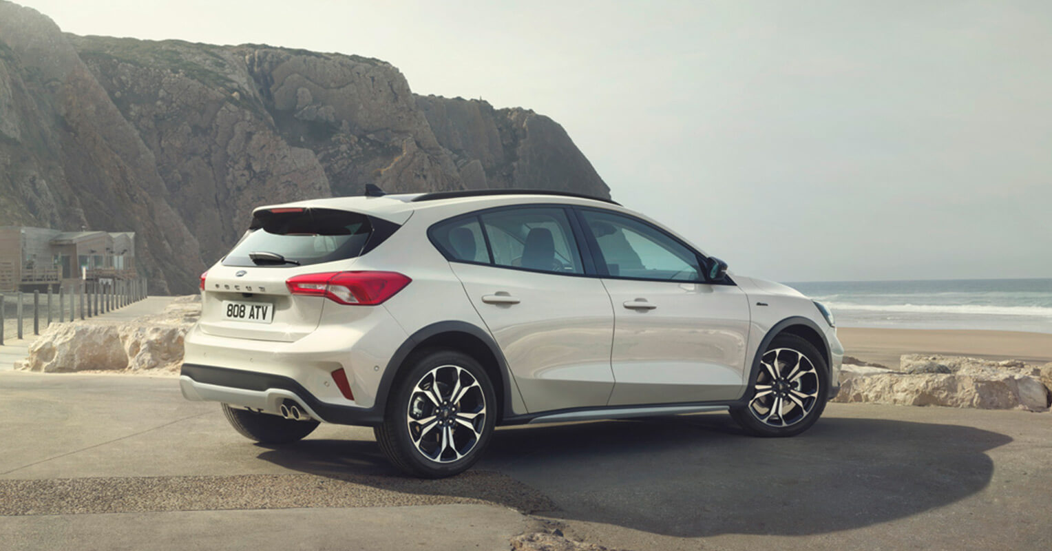Ford Focus 2019 trasera