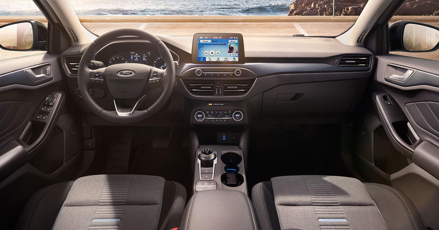 Ford Focus 2019 interior