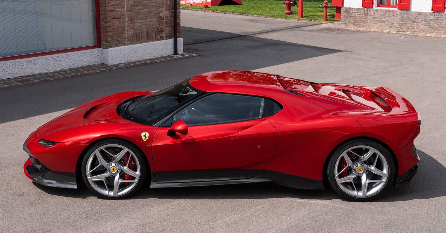 Ferrari SP38 lateral