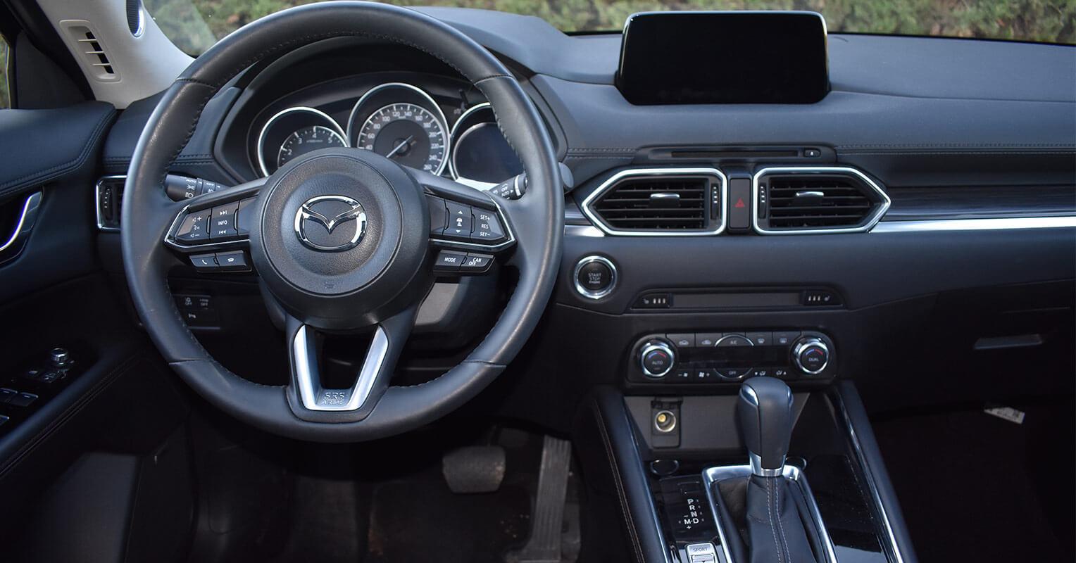 Interior del Mazda CX-5
