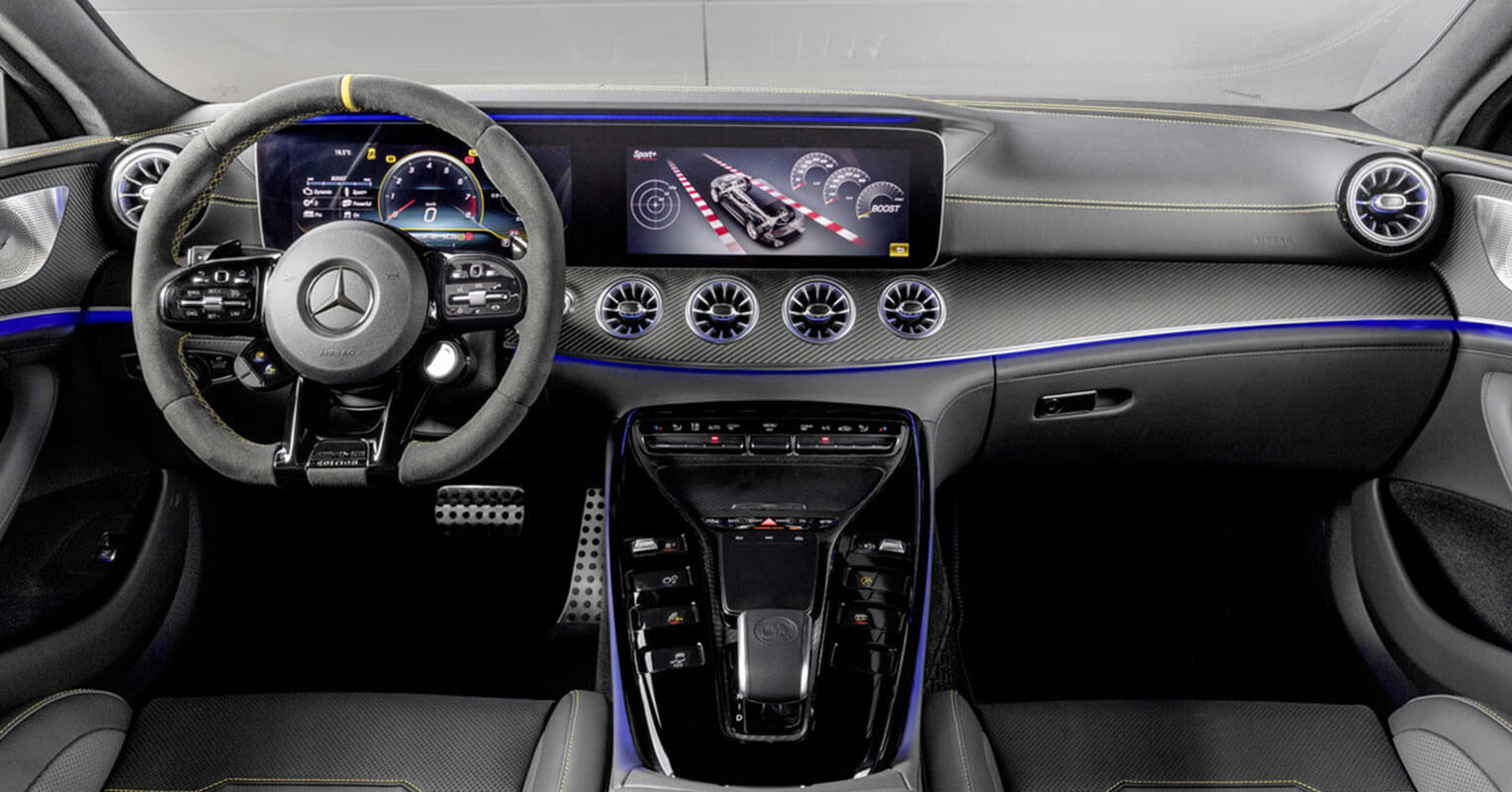 Interior del Mercedes-AMG GT Coupe Edition 1