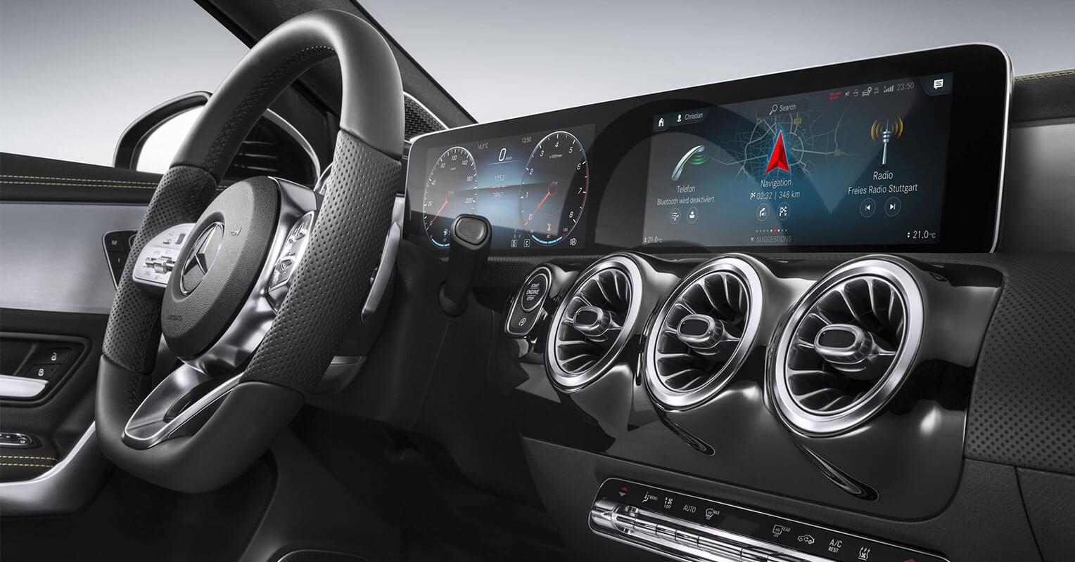 Interior del Mercedes-Benz Clase C 2018