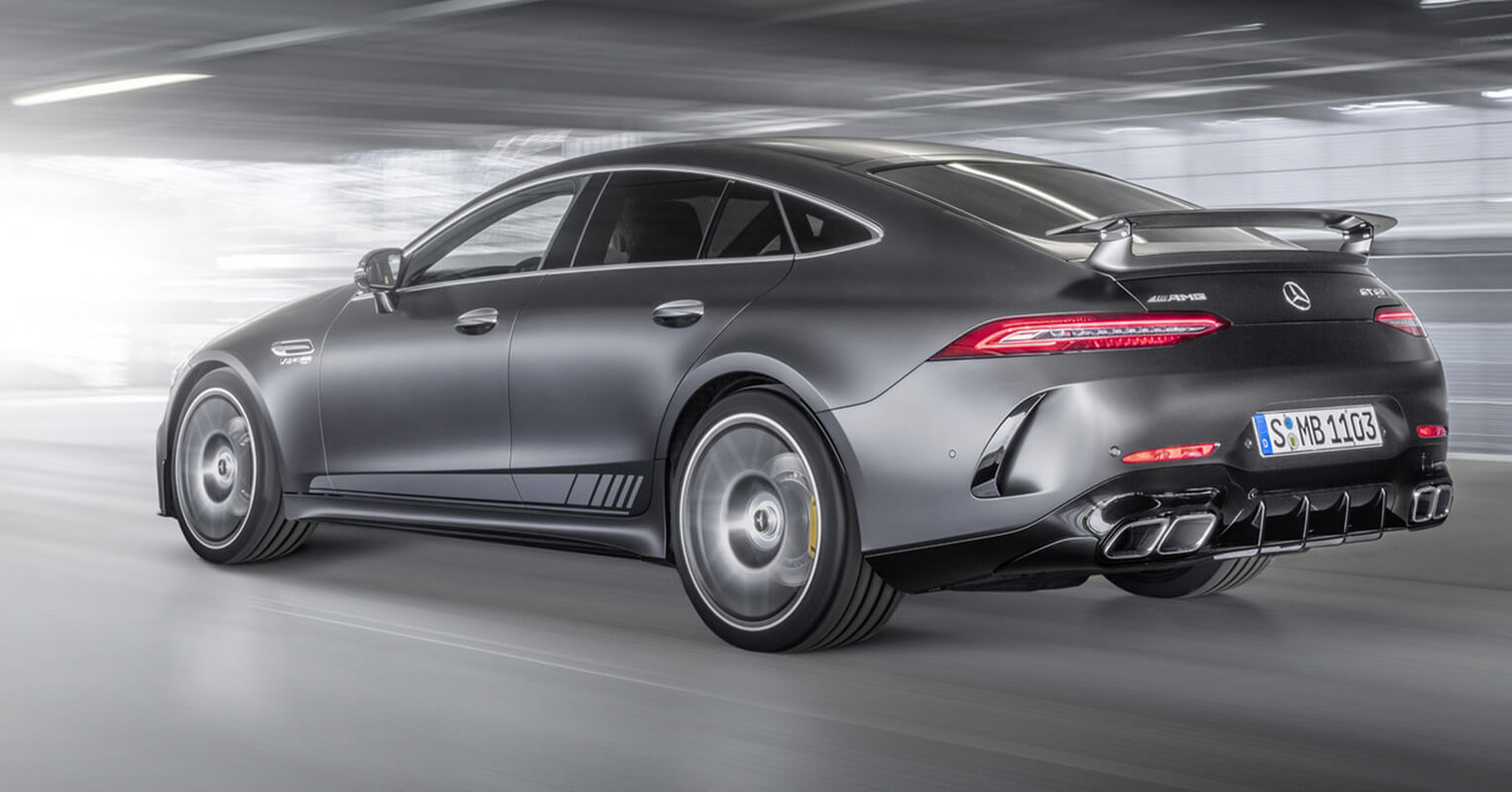 Trasera del Mercedes-AMG GT Coupe 63 S Edition 1