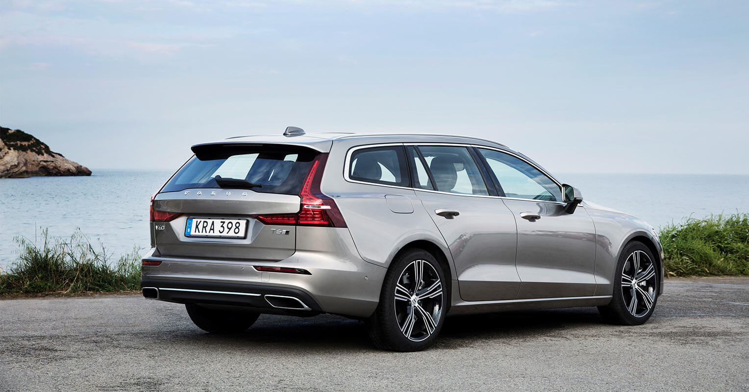 Trasera del Volvo V60 2018
