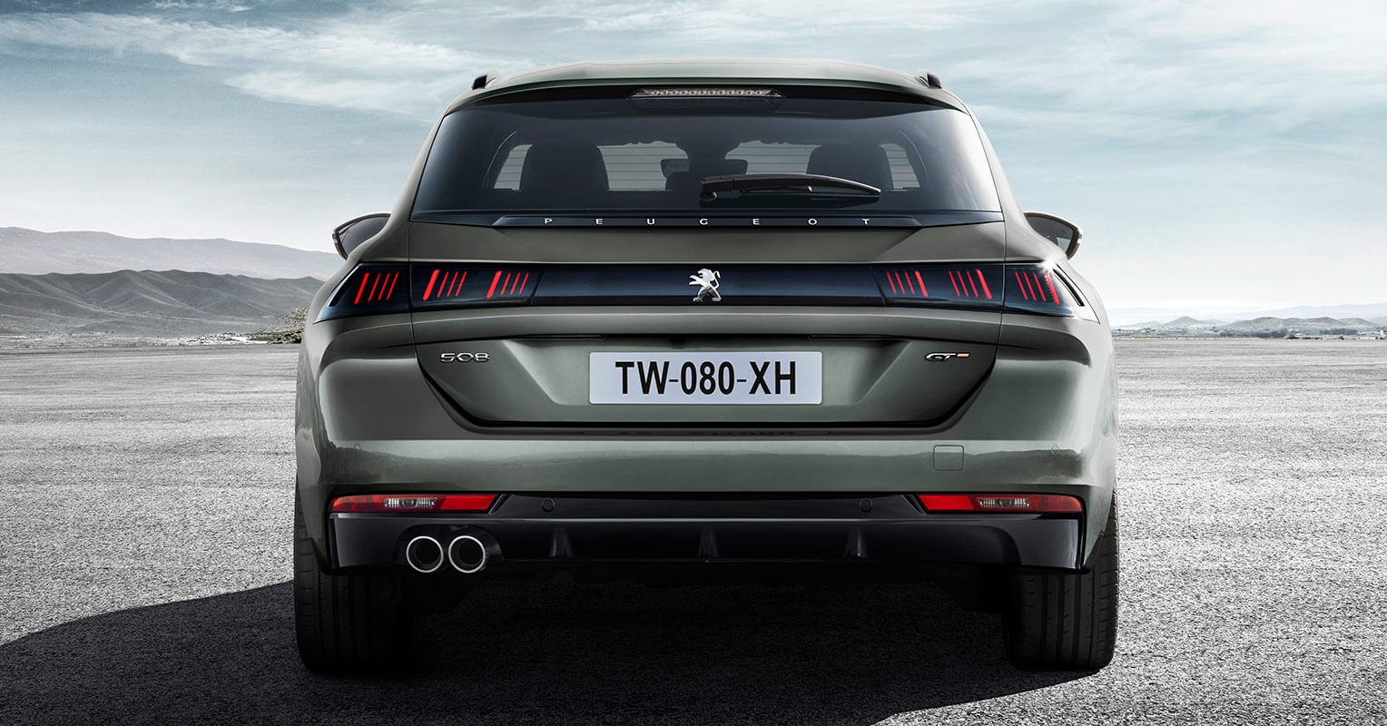 Peugeot 508 SW zaga