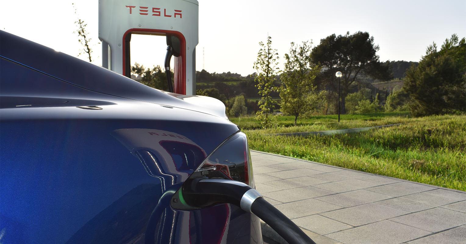 Enchufe del Tesla Model S 2018