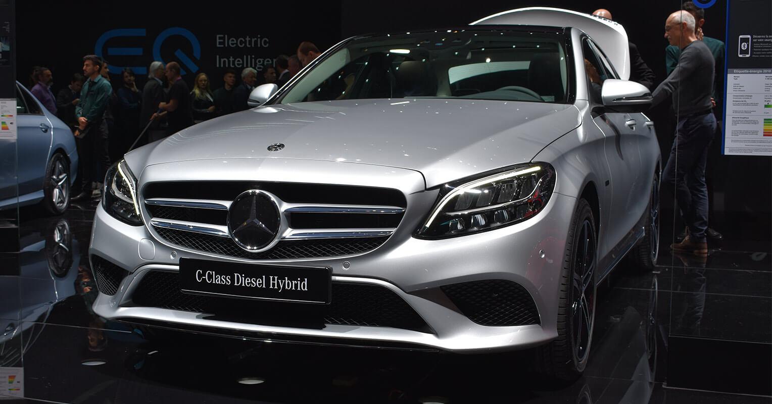 Frontal del Mercedes-Benz Clase C
