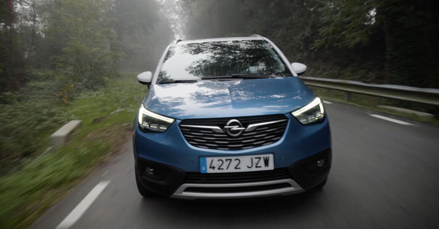 Frontal del Opel Crossland X