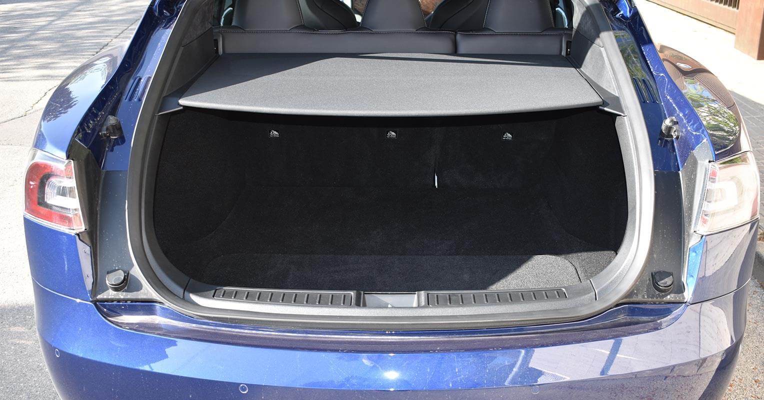 Maletero del Tesla Model S 2018