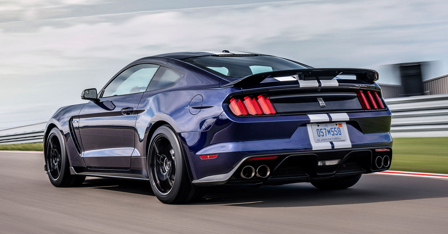 Ford Mustang Shelby GT350 2019 trasera