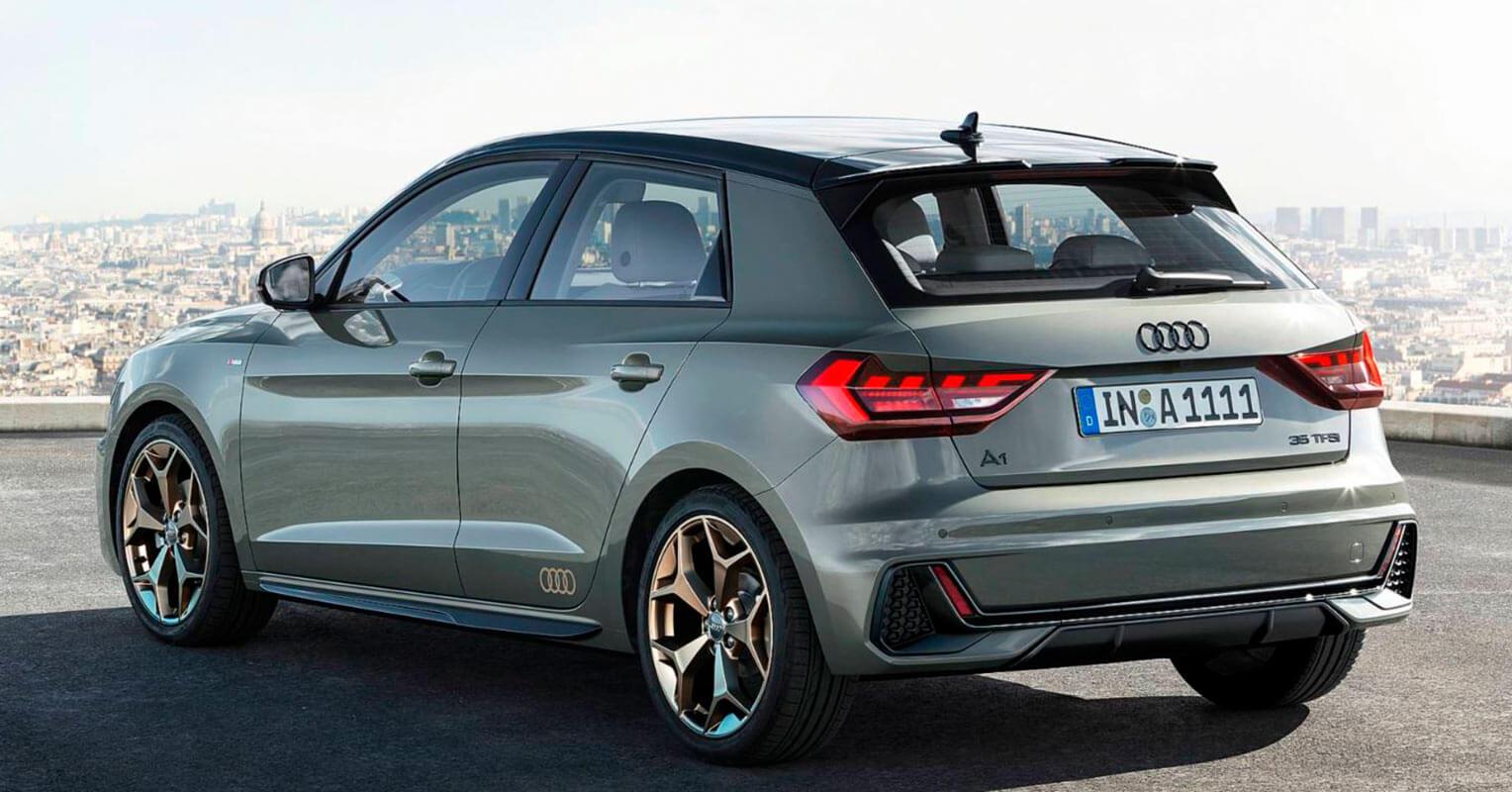 Audi A1 2019 trasera