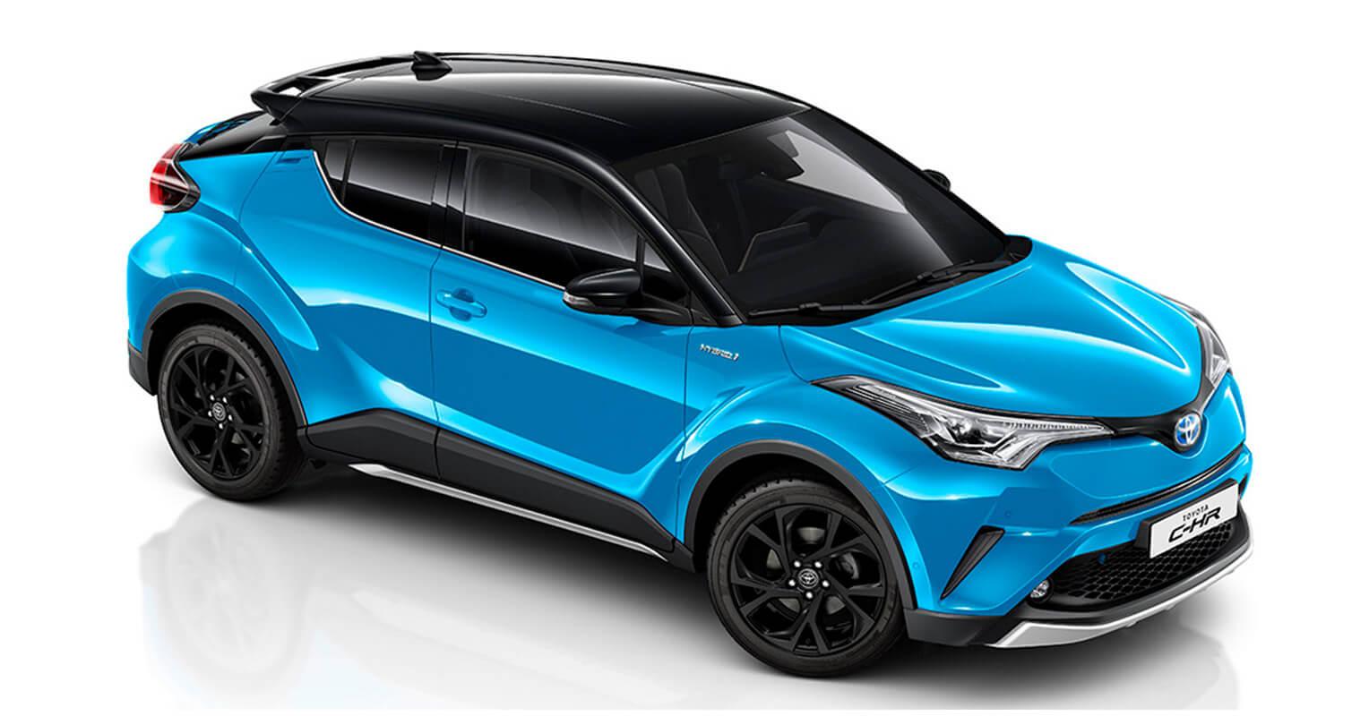 Toyota C-HR 2019 azul