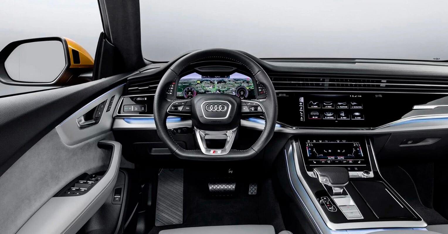 Audi Q8 2019 interior