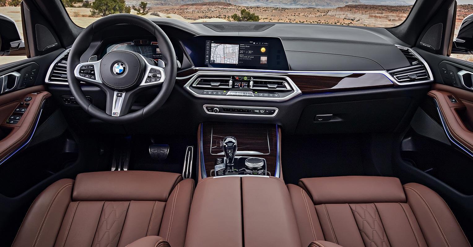 BMW X5 2018 interior