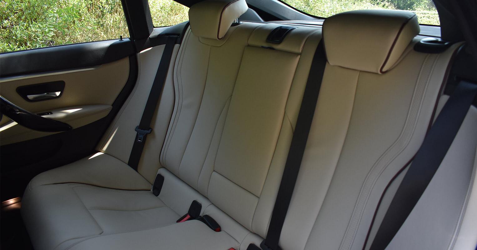 Asientos traseros del BMW Serie 4 Gran Coupé