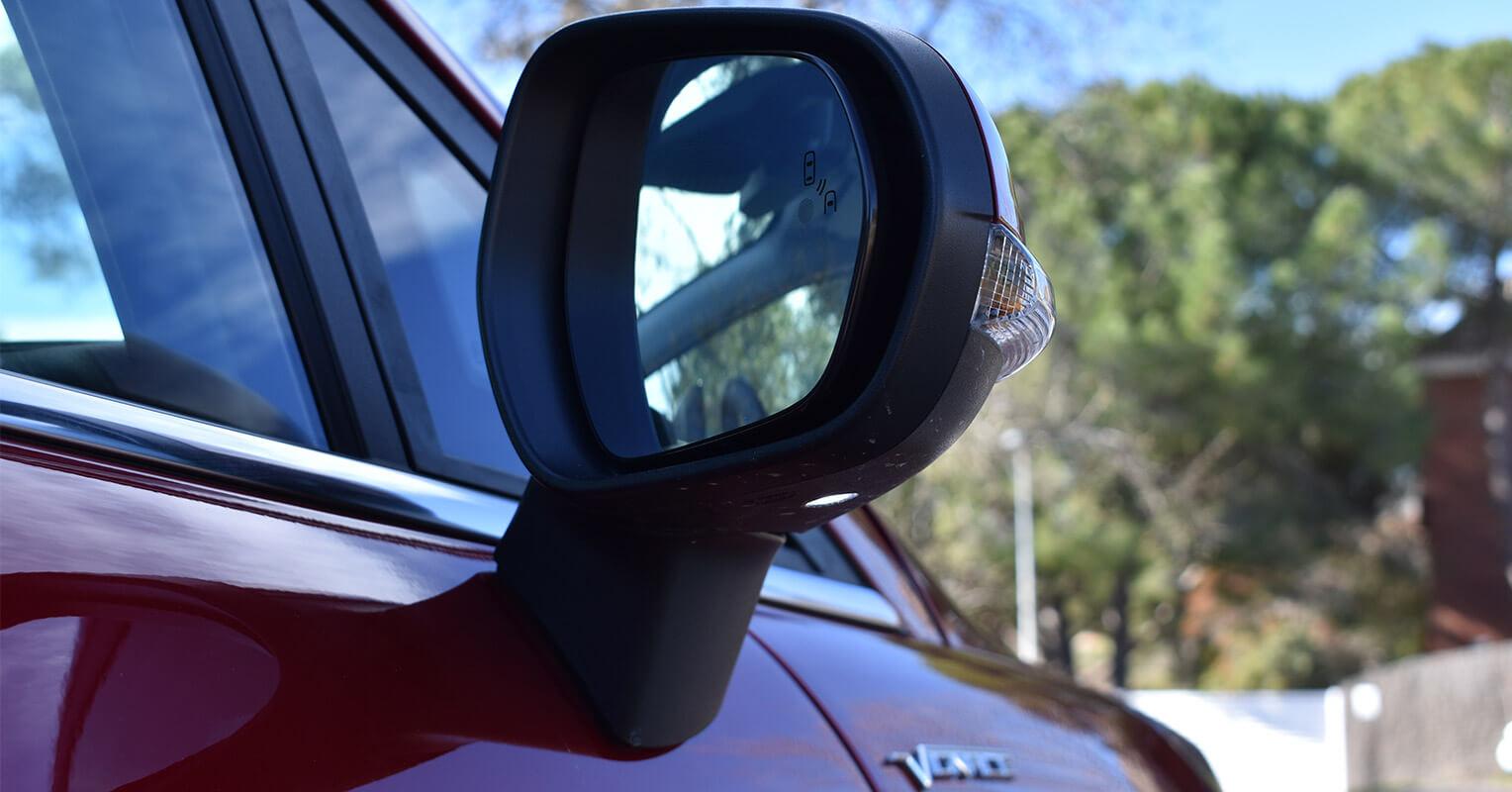 Espejo retrovisor del Ford Fiesta 2018