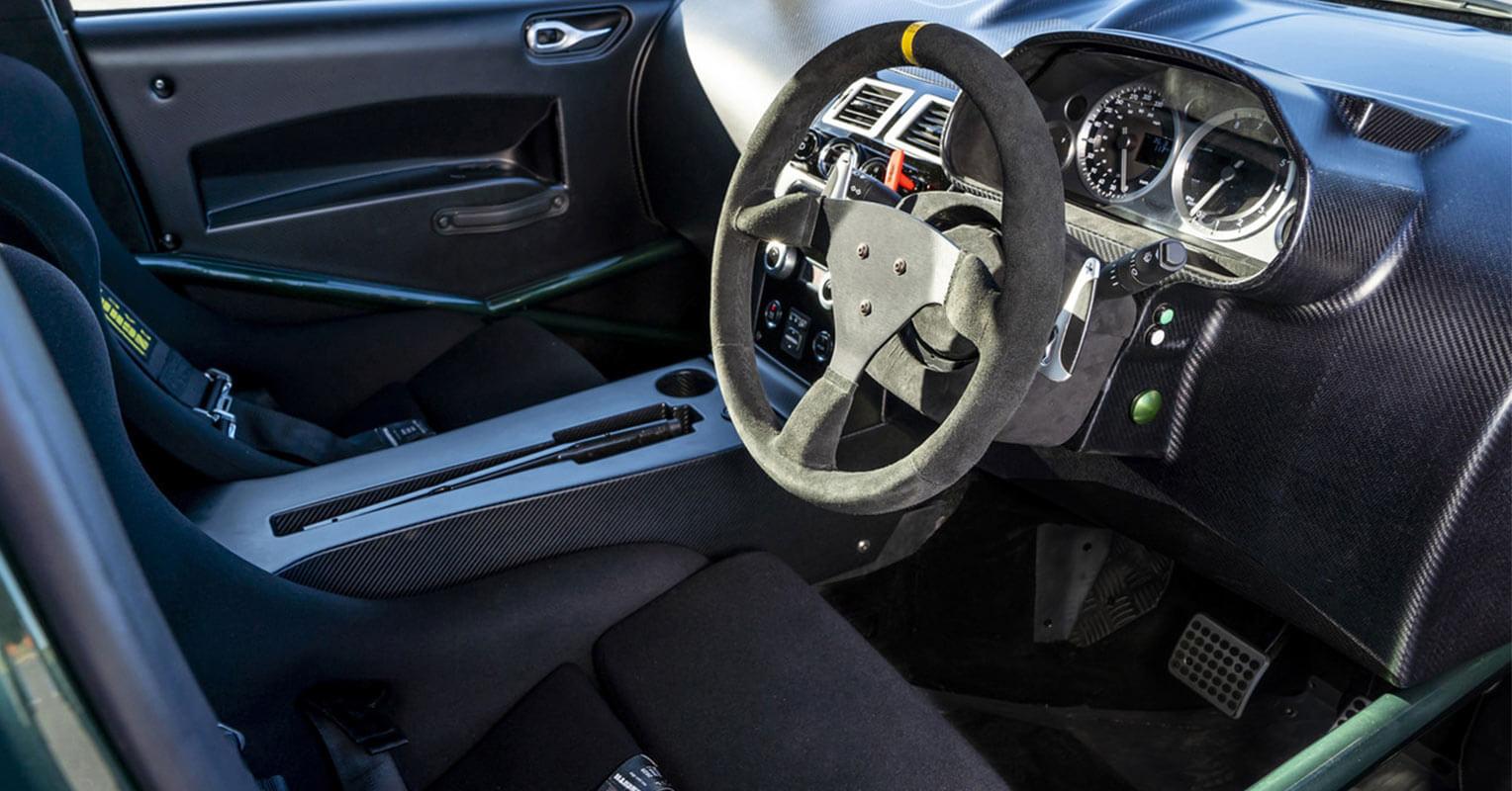 Interior del Aston Martin Cygnet 2018