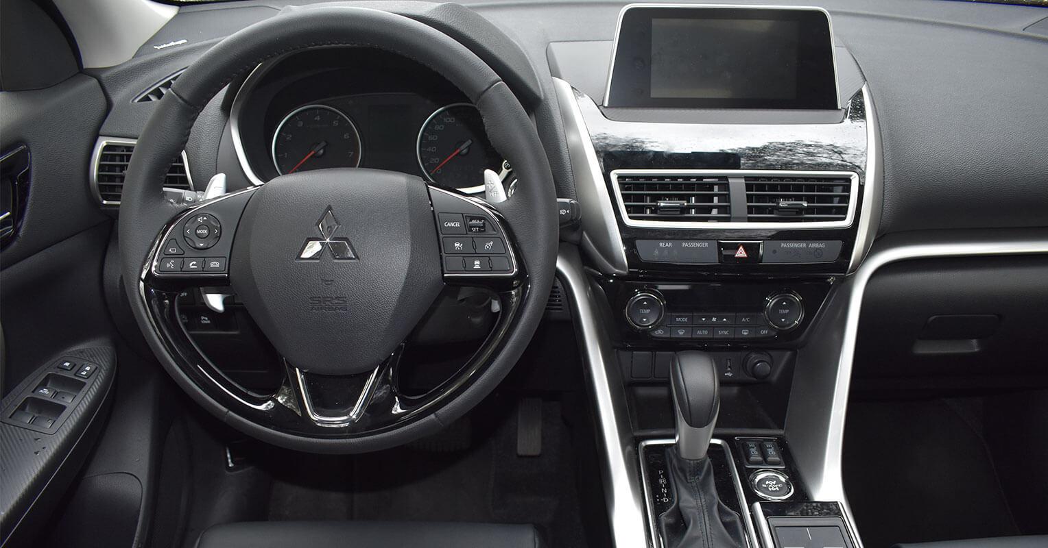 Interior del Mitsubishi Eclipse Cross