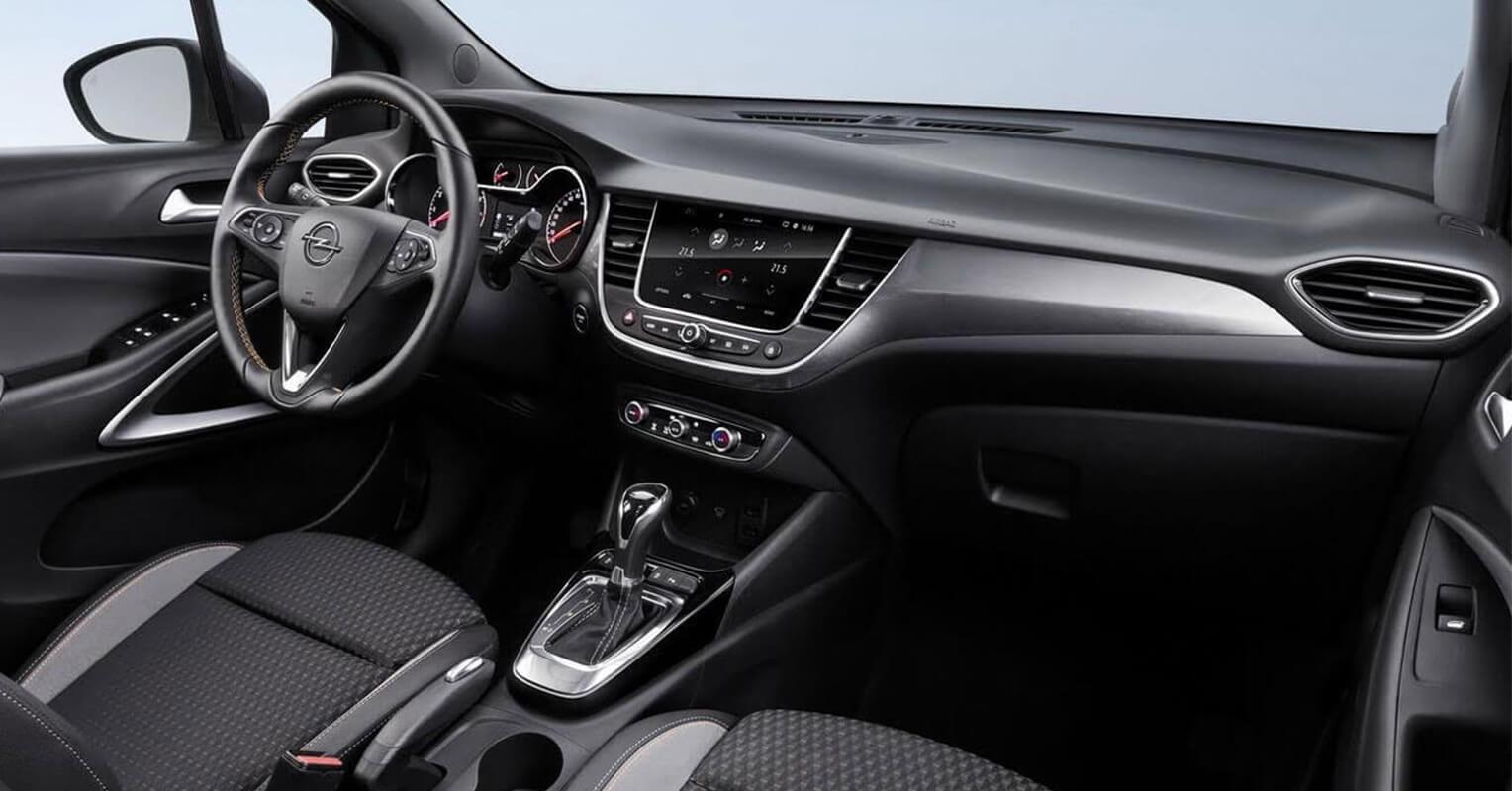 Interior del Opel Crossland X 2018