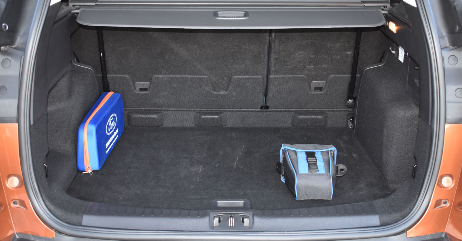 Maletero del Ford Kuga 2018