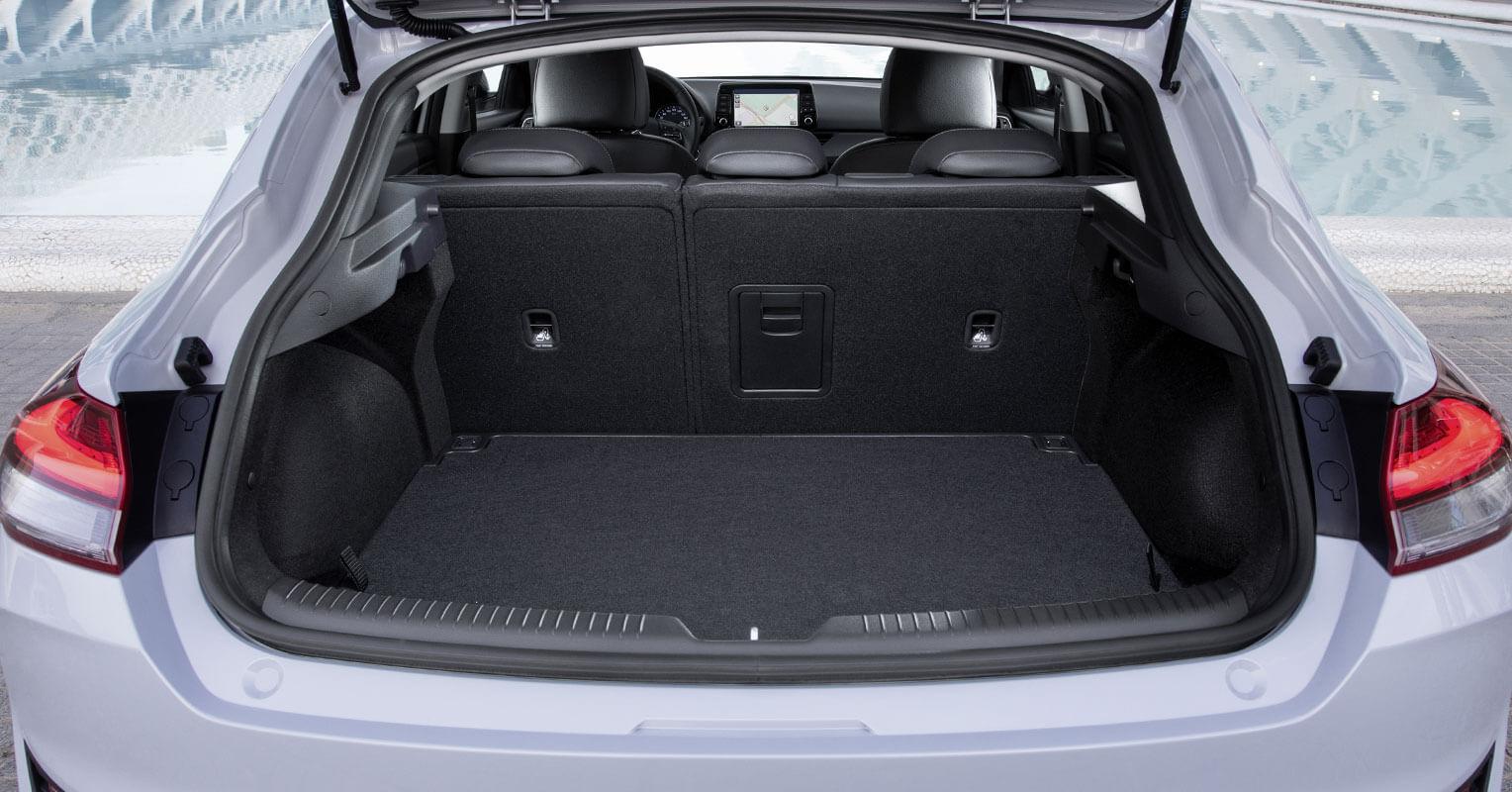 Maletero del Hyundai i30 Fastback 2018