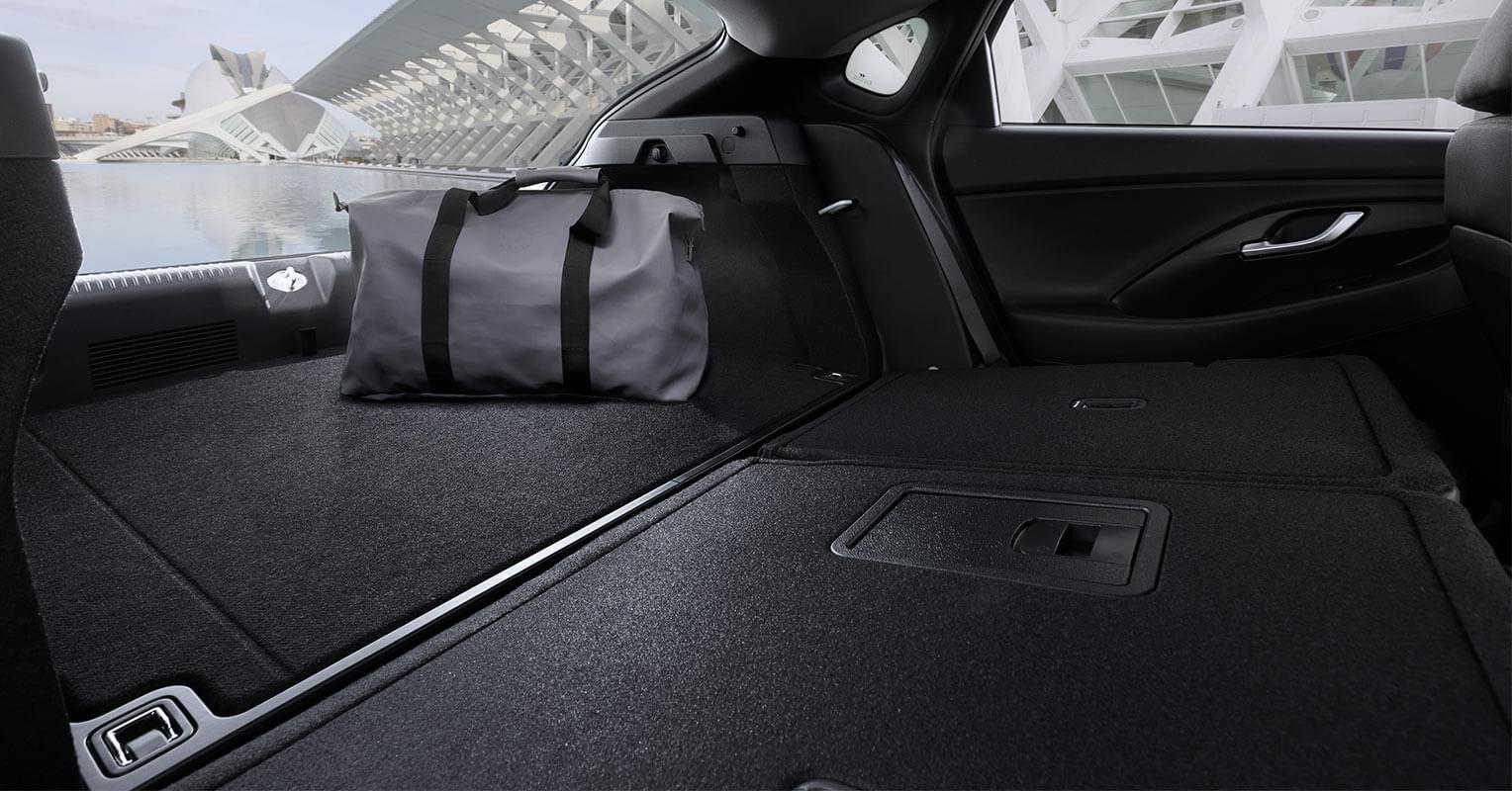 Maletero del Hyundai i30 Fastback