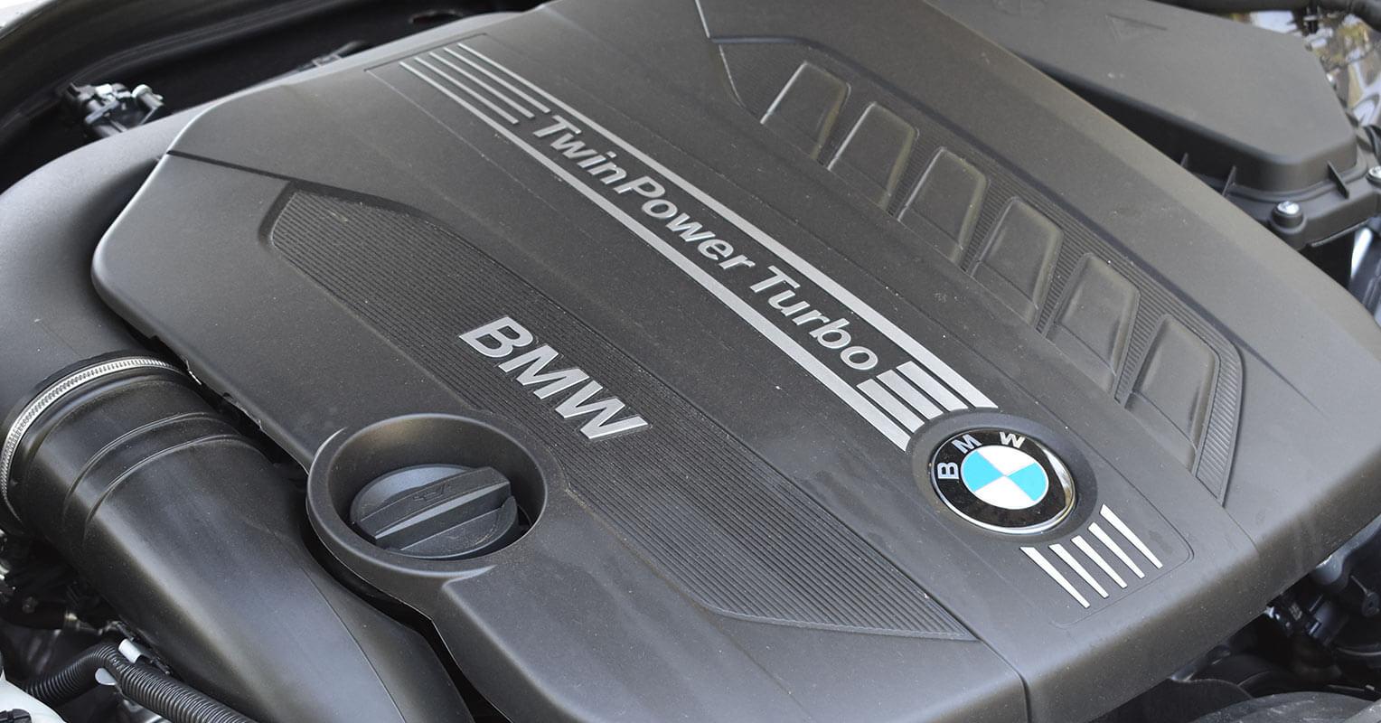 Motor del BMW Serie 4 Gran Coupé