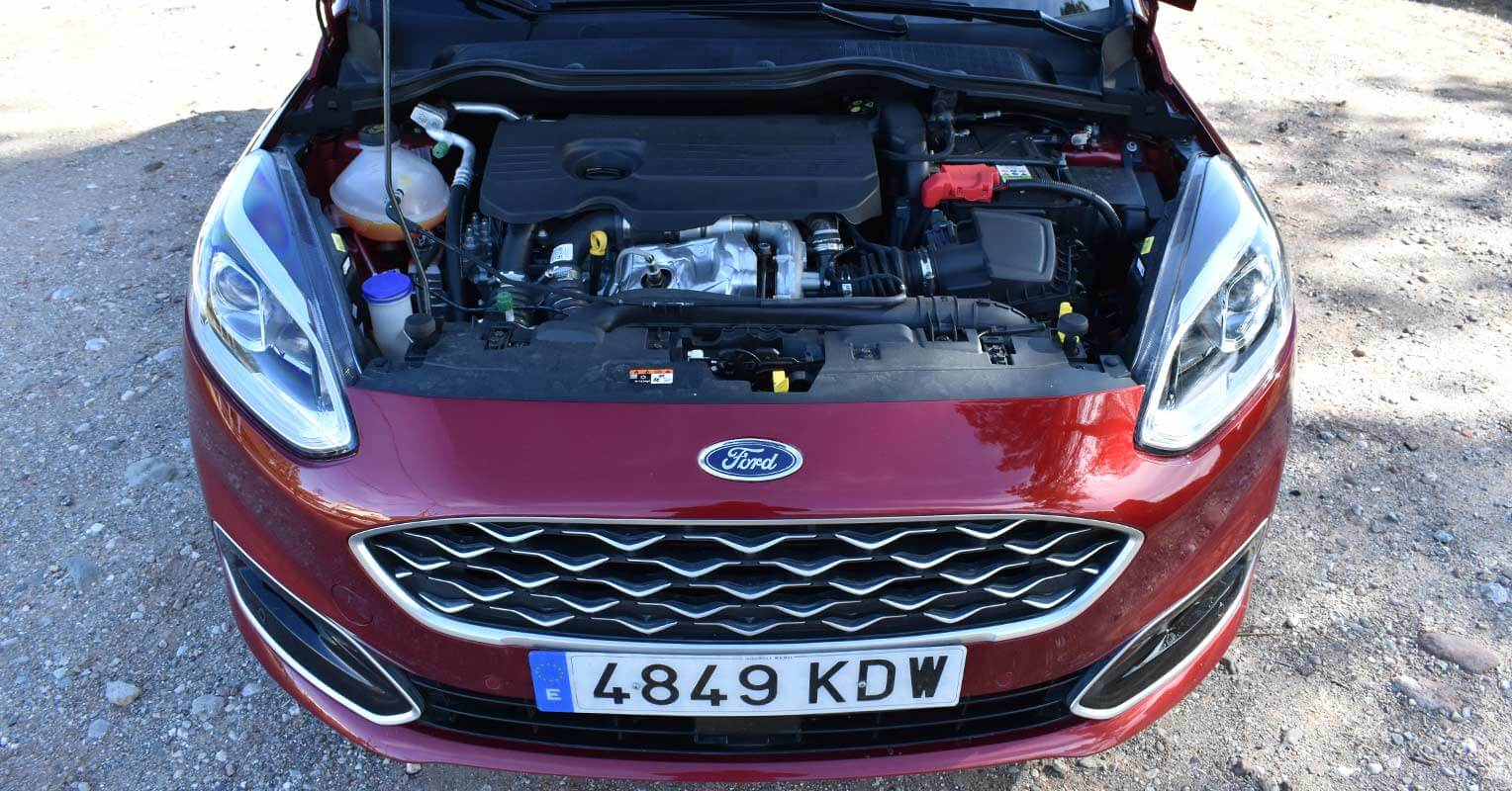 Motor del Ford Fiesta 2018