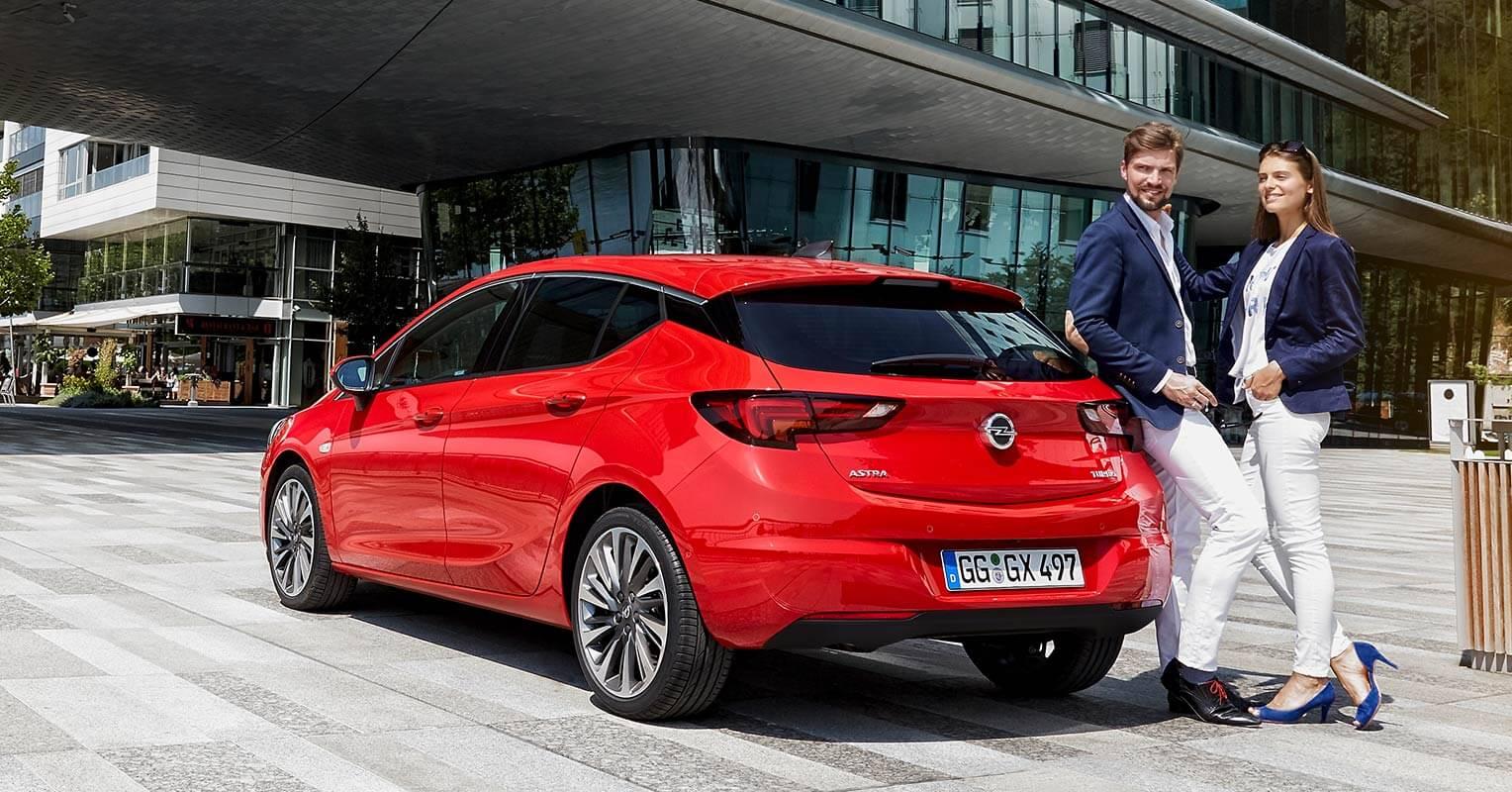 Opel Astra medidas