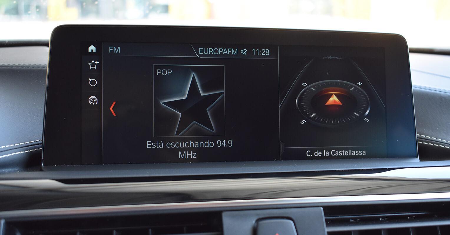 Pantalla multimedia del BMW Serie 4 Gran Coupé