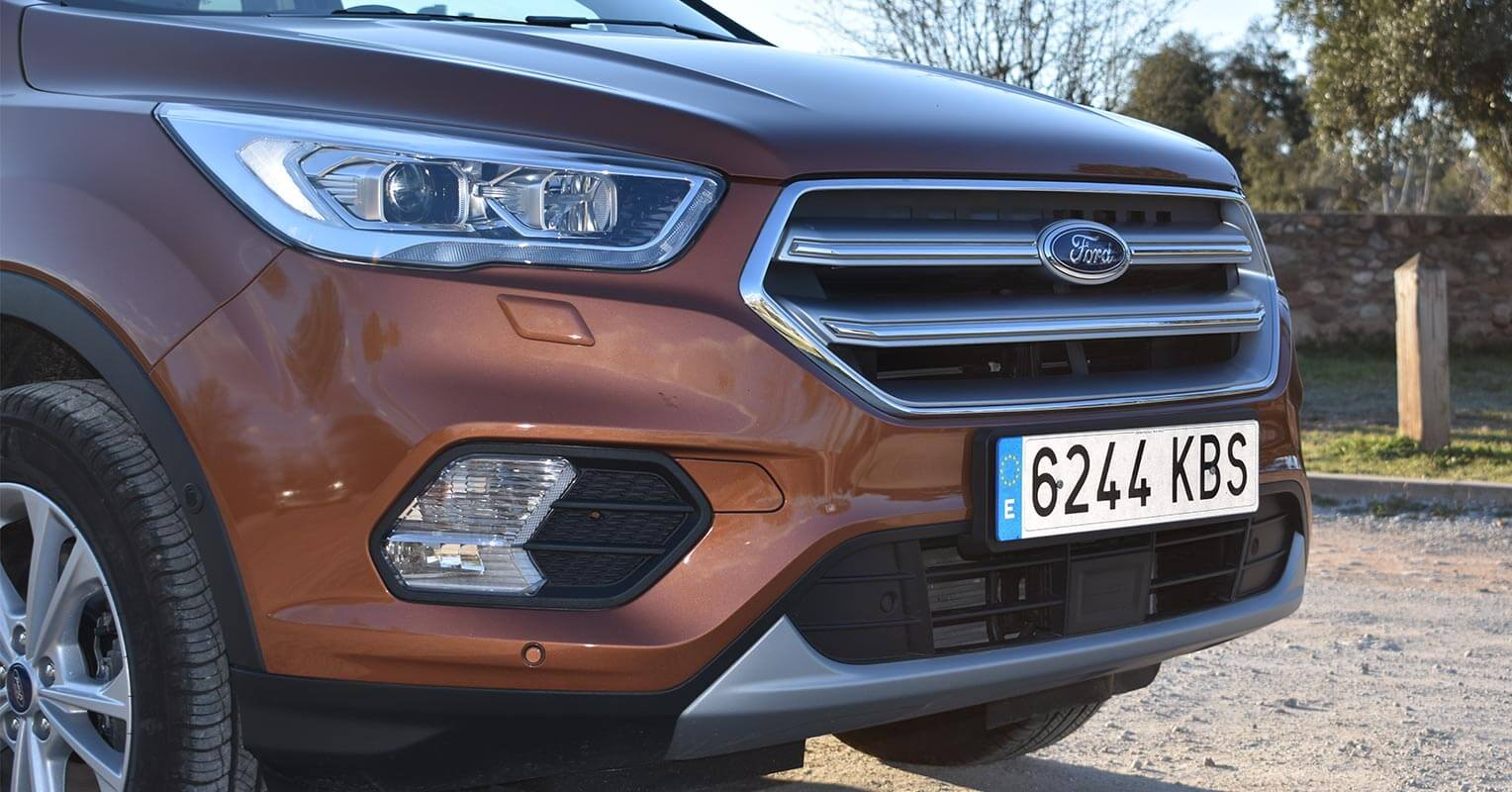 Parrilla frontal del Ford Kuga 2018