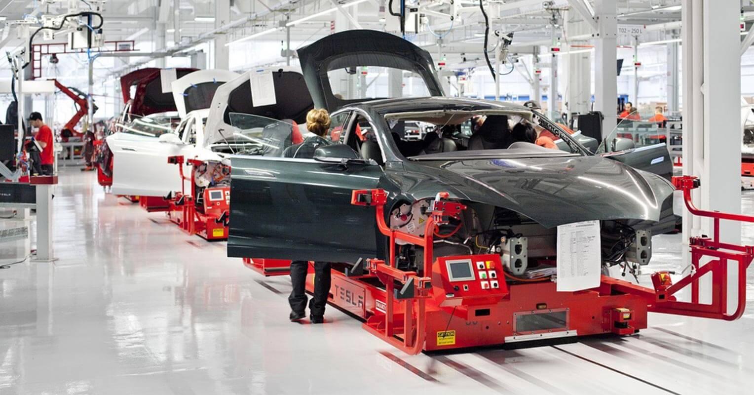 Planta de fabricación de Tesla