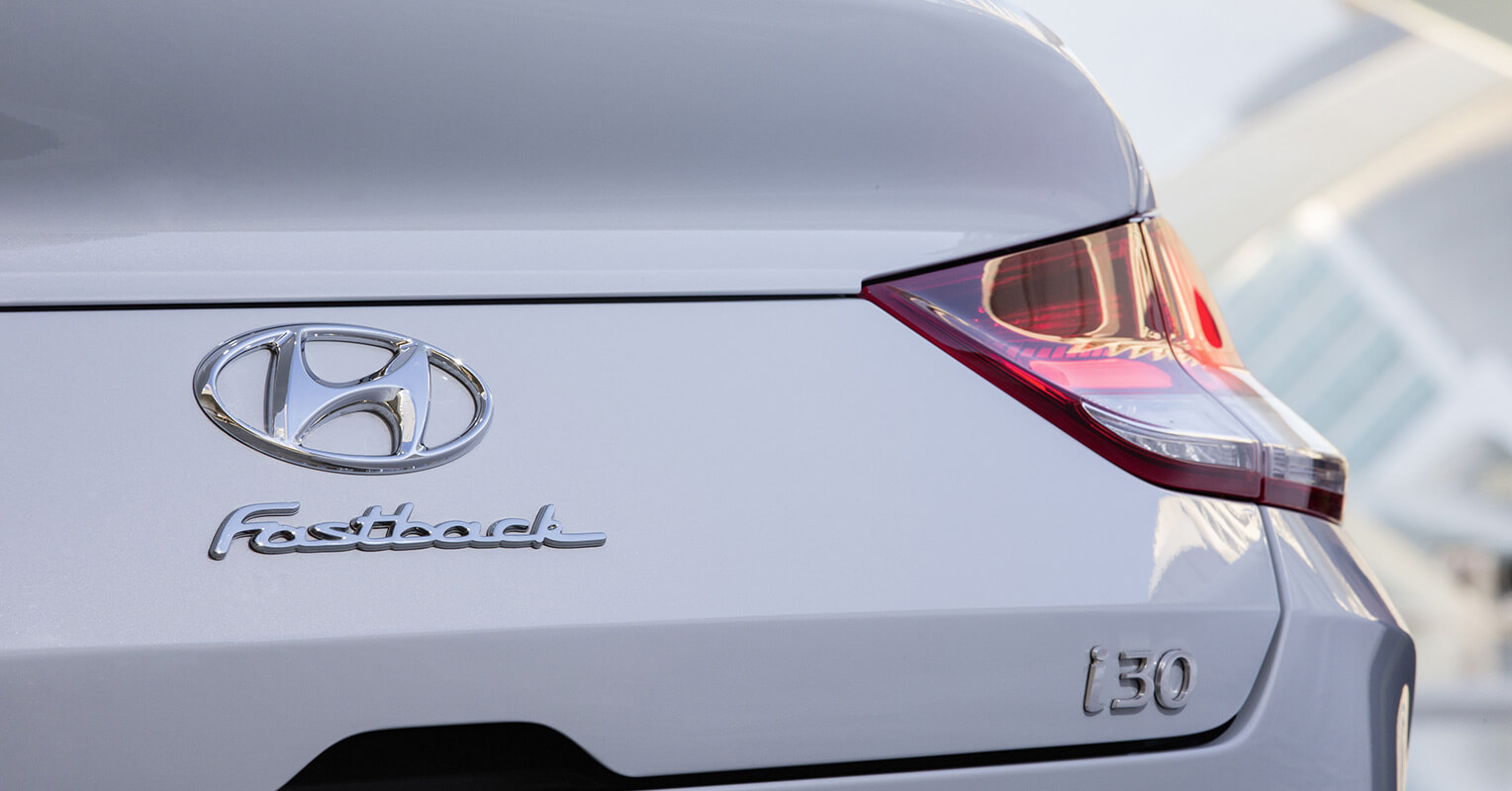 Portón trasero del Hyundai i30 Fastback 2018