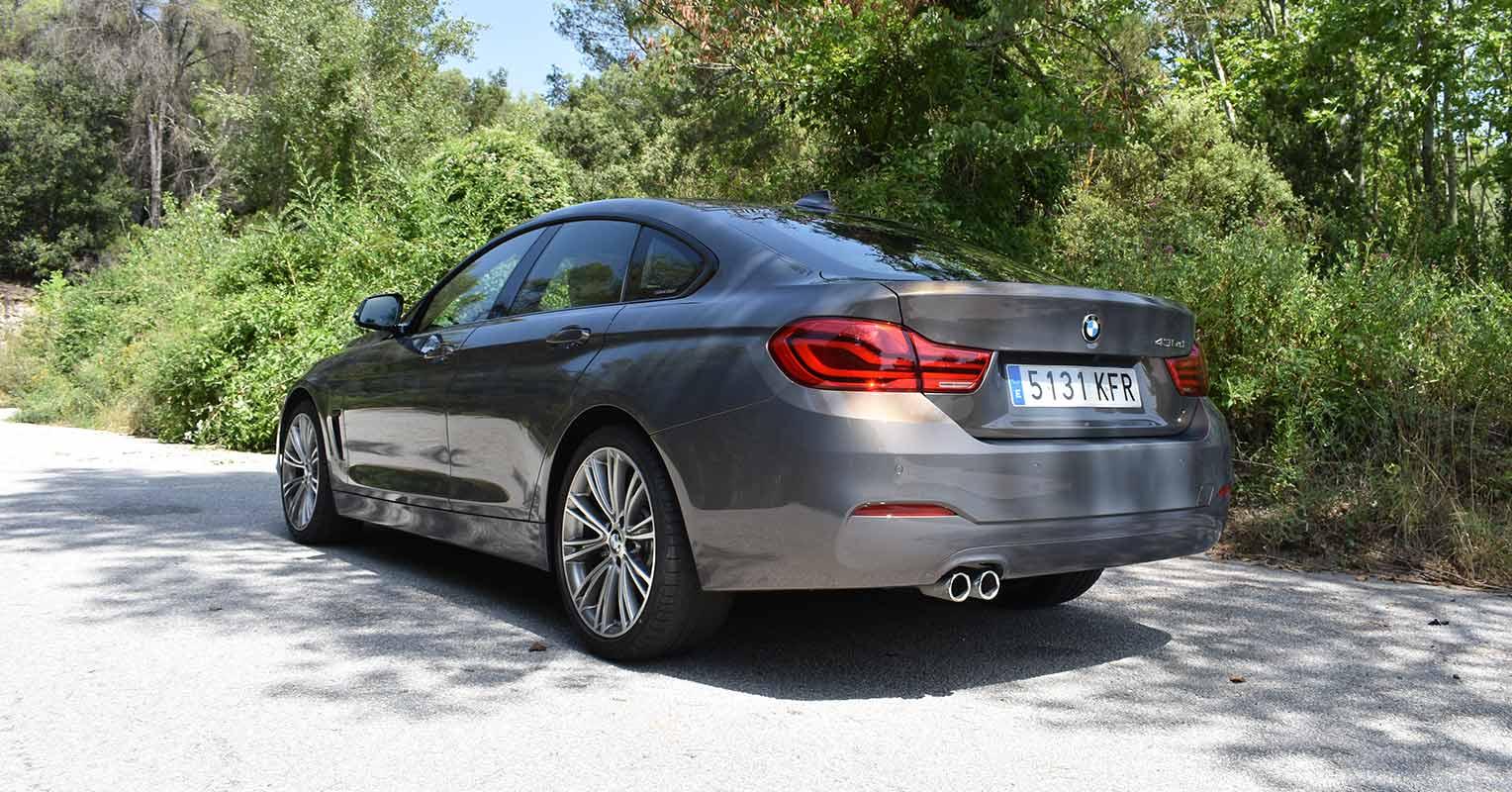 Trasera del BMW Serie 4 Gran Coupé