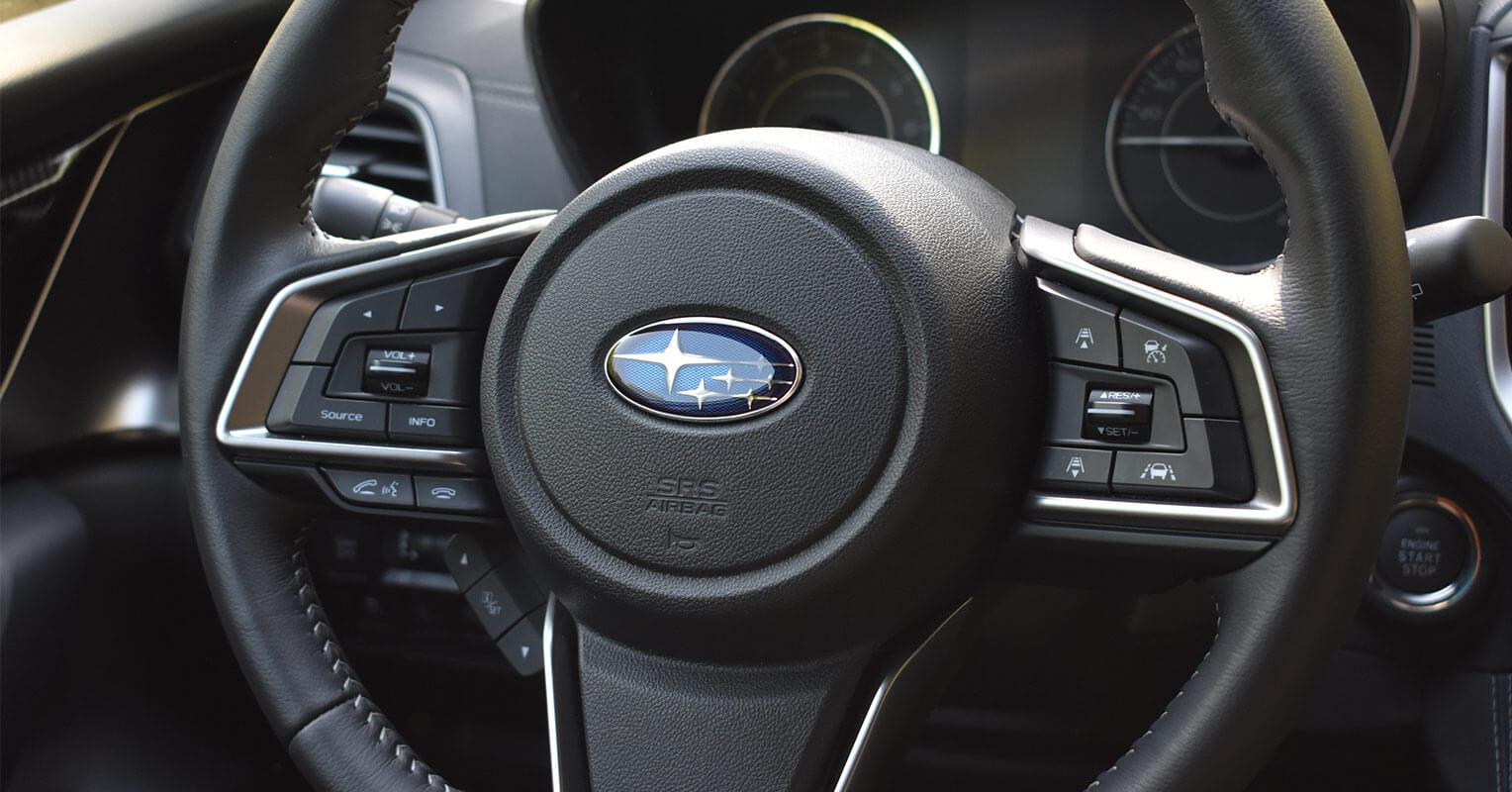 Volante del Subaru Impreza 2018